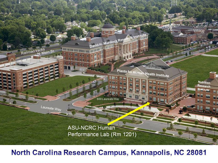 North Carolina Research Campus in Kannapolis, NC