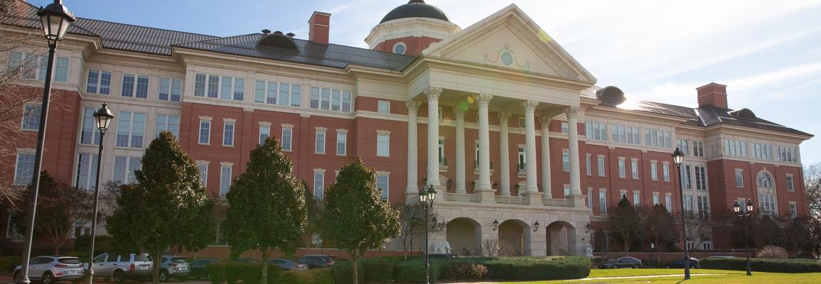 David H. Murdock Research Institute building, NC Research Campus. Photo by Ellen Gwin Burnette.