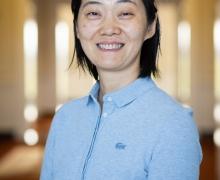 Xintang Wang photo by Ellen Gwin Burnette